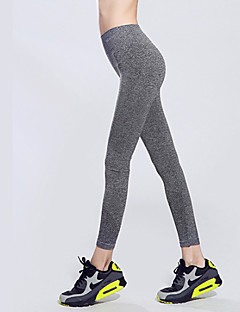 Women's Running Tights Gym Leggings Quick Dry High Breathability (>15,001g) Breathable Compression Stretch Sweat-wicking Tracksuit Bottoms