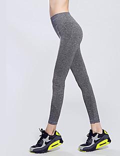 Mulheres Leggings de Corrida Leggings de Ginástica Secagem Rápida Alta Respirabilidade (>15,001g) Respirável Compressão Elástico Redutor