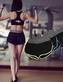 Mulheres Shorts de Corrida Secagem Rápida Respirável Shorts Calças para Ioga Exercício e Atividade Física Esportes Relaxantes Corrida