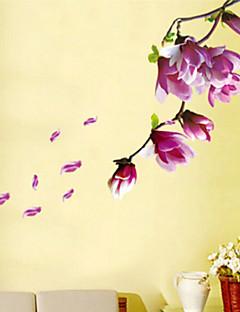 preiswerte Botanische Wandsticker-Landschaft Blumen Wand-Sticker Flugzeug-Wand Sticker Dekorative Wand Sticker, Vinyl Haus Dekoration Wandtattoo Wand
