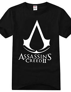 """Inspirert av Snikmorder Ezio Anime  """"Cosplay-kostymer"""" Cosplay T-skjorte Trykt mønster Kortermet T-Trøye Til Unisex"""