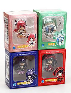 billige Anime cosplay-Anime Action Figurer Inspirert av Date A Live Cosplay PVC 10 cm CM Modell Leker Dukke