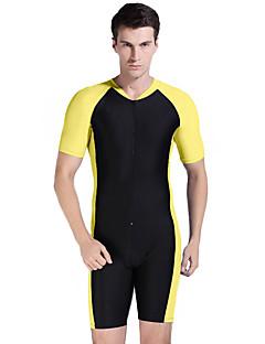 お買い得  ウェットスーツ/ダイビングスーツ/ラッシュガードシャツ-男性用 ダイブスキンスーツ 速乾性 抗紫外線 フルボディー タクテル ラッシュガード ダイビングスーツ トップス ボトムズ 潜水 サーフィン シュノーケリング