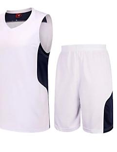 Homens Futebol Shorts shirt + Conjuntos de Roupas/Ternos Respirável Secagem Rápida Permeável á Humidade Alta Respirabilidade (>15,001g)