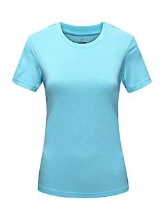 Damen T-Shirt für Wanderer Rasche Trocknung UV-resistant Feuchtigkeitsdurchlässigkeit Staubdicht Hohe Atmungsaktivität (>15,001g)