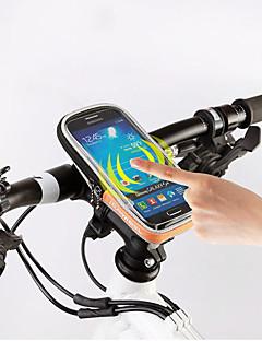 ROSWHEEL® 自転車用バッグ自転車用フロントバッグ 防水ファスナー 防湿 耐衝撃性 耐久性 自転車用バッグ ポリ塩化ビニル テリレン サイクリングバッグIphone 6/IPhone 6S/IPhone 7 iPhone 5 C Samsung Galaxy S11