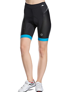 cheap Cycling Pants, Shorts, Tights-TASDAN Cycling Padded Shorts Women's Bike Padded Shorts/Chamois Underwear Shorts Shorts Bottoms Bike Wear Quick Dry Breathable