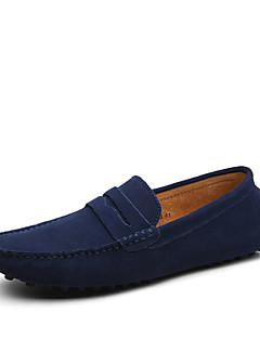cheap -Men's Formal Shoes Suede Casual Loafers & Slip-Ons Khaki / Royal Blue / Burgundy / Comfort Loafers