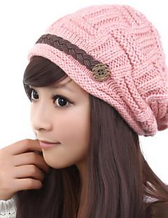 billige Hatter til damer-Dame Søtt Ivycaps Ensfarget