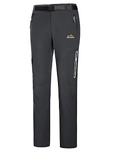 tanie Turystyczne spodnie i szorty-Dla obu płci Turistické kalhoty Na wolnym powietrzu Wodoodporny Quick Dry Rain-Proof Zdatny do noszenia Oddychający Zima Spodnie Camping