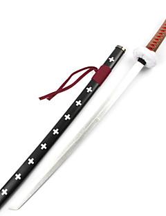Arma Espada Inspirado por One Piece Trafalgar Law Anime Acessórios para Cosplay Espada Madeira Masculino