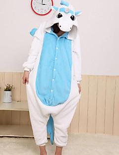 baratos Pijamas Femininos-Mulheres Algodão Com Capuz Pijamas Estampa Colorida Animal