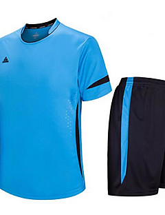 Enfant Football Ensemble de Vêtements Séchage rapide Respirable Printemps Eté Hiver Automne Térylène Exercice & Fitness Sport de détente