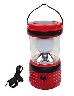 billige Lampestolper-usb utgang solar 6 ledet hvitt utendørs camping fotturer lanterne tent lampe lys
