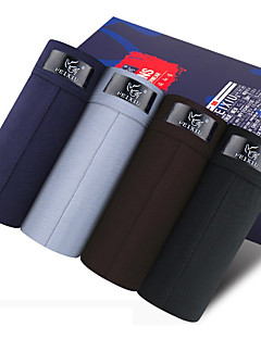 ieftine Lenjerie Bărbați-SHINO® Bumbac / Fibră de Carbon de Bambus Chiloți Boxeri Bărbătești 4 / cutie-F027