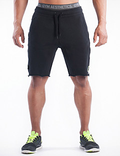 Men's Running Shorts Breathable Sweat-Wicking Comfortable Shorts Bottoms Exercise & Fitness Racing Leisure Sports Running Cotton Loose
