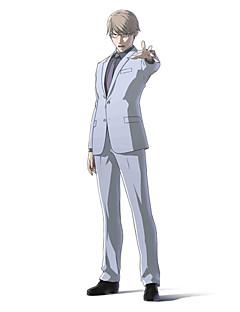 """Inspirert av Ajin Tosaki Anime  """"Cosplay-kostymer"""" Cosplay Klær Ensfarget Langermet Frakk Trøye Bukser Slips Til Mann Kvinnelig"""