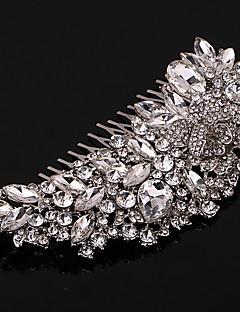 perle krystal rhinestone legering hår kamme hovedstykke elegant stil