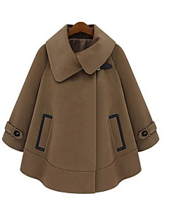 cheap Maternity Outerwear-Women's Coats Trench Coat-Nature,Formal Style