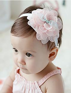 tanie Akcesoria dla dzieci-Akcesoria do włosów - Dla dziewczynek - Na każdy sezon - Szyfon - Opaski na głowę - Różowy Light Green