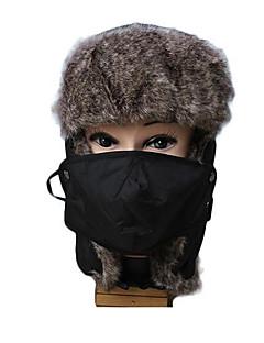 Gorro Chapka Chapéu de Pelo Esqui Chapéu Homens Unisexo Térmico/Quente Pranchas de Snowboard Algodão Clássico Esqui Acampar e Caminhar