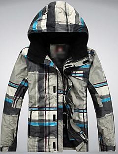Heren Ski-jack Houd Warm Winddicht Draagbaar Polyester Skikleding Winteroutfit Kamperen&Wandelen Sneeuwsporten Afdaling Snowboarden