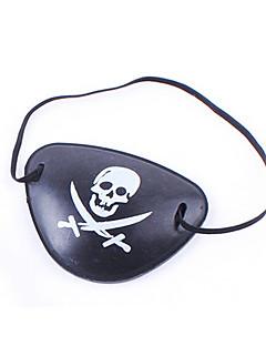 Pirat Halloween Utstyr Unisex Halloween Festival/høytid Halloween-kostymer Trykt mønster