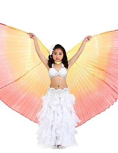 Dance Accessories Isis Wings Children's Performance Polyester Pleated 1 Piece Fairies Wings