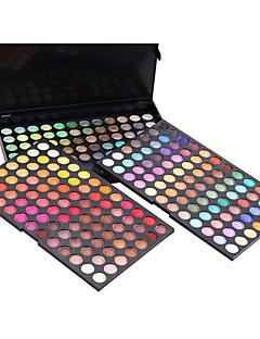 252 Øjenskygger Tør Ansigt Øjne Glitter glans (gloss) Farvet glans Potte Glasur Dekning Længerevarende Ujævn hud Naturlig Åndbart