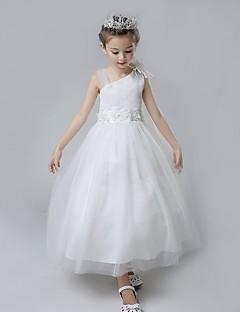 השמלה כוכב השמלה פרח שמלת ילדה - כותנה tulle ללא שרוולים straps עם ruffles על ידי lovelybees