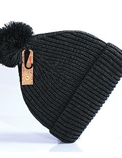 ニット帽 スキー 帽子 女性用 男性用 男女兼用 保温 快適 スノーボード コットン クラシック スキー キャンピング&ハイキング ダウンヒル スノーボード 冬