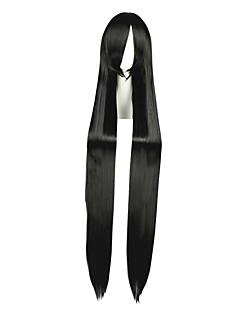 billige Anime cosplay-Cosplay Parykker Final Fantasy Vincent Valentine Anime Cosplay-parykker 120 CM Varmeresistent Fiber Herre Dame