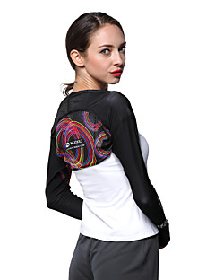 お買い得  ランニングシャツ/パンツ/ショーツ-Nuckily 女性用 ランニングTシャツ 長袖 抗紫外線 高通気性 サンスクリーン トップス のために キャンピング&ハイキング 釣り エクササイズ&フィットネス サイクリング / バイク ランニング ポリエステル S M L