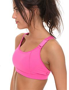 billiga Träning-, jogging- och yogakläder-Brottarrygg Sportbehåar Vadderad Lätt stöd för Yoga - Purpur / Rosenröd / Grå 3D Tablett, Andningsfunktion, Sömlös Dam Sexig, Mode