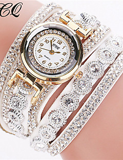 New Fashion Luxury Rhinestone Bracelet Watch Women's Strap Watch Clock Watch Ladies Quartz Watch  Casual Women Wristwatch