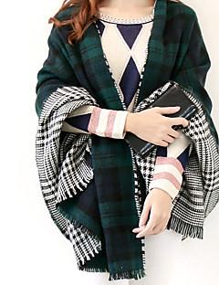 レディース ヴィンテージ / カジュアル ウール混 スカーフ