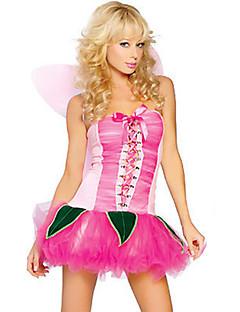 Dyremønster Cosplay Kostumer Party-kostyme Kvinnelig Halloween Festival/høytid Halloween-kostymer Rosa Lapper