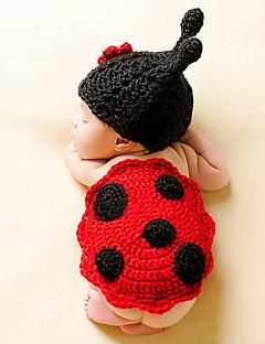 tanie Akcesoria dla dzieci-Kapelusze i czapki - Dla dziewczynek Dla chłopców - Na każdy sezon - Bawełna Roman Knit - Opaski na głowę - Czerwony