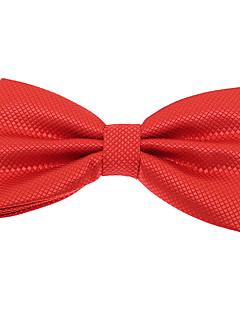 baratos Acessórios de Moda-Homens Festa Trabalho Básico Poliéster, Gravata Borboleta Jacquard