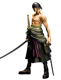 Anime Action Figurer Inspirert av One Piece Roronoa Zoro 25 CM Modell Leker Dukke