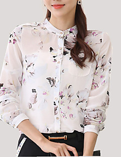 cheap Women's Tops-Women's Plus Size Shirt - Floral, Flower Stand