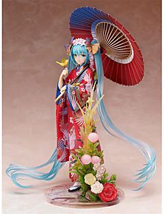 Anime Action Figurer Inspirert av Vokaloid Hatsune Miku PVC 22 CM Modell Leker Dukke