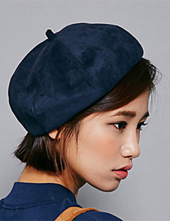 Uniseks Vintage / Günlük Tüm Mevsimler Pamuklu Uniseks Fedora Şapka