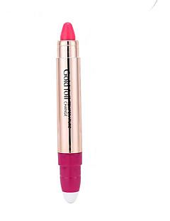 זול שפתיים-שפתון נגד יובש מט חאקי לחות / מחזיק לאורך זמן צבעים מרובים 1 HANYASHI