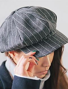 Beret Unisex Alle årstider Vintage / Fritid Tweed