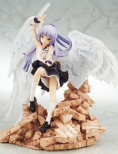 billige Anime cosplay-Anime Action Figurer Inspirert av AngelBeats Kanade Tachibana PVC 22 CM Modell Leker Dukke