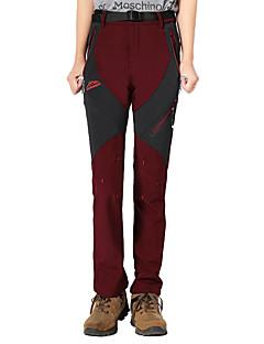tanie Turystyczne spodnie i szorty-Damskie Softshellové kalhoty Keep Warm Wiatroodporna Izolacja Oddychający Wygodny Ochronne Spodnie Doły na Łyżwiarstwo Fitness Wyścigi