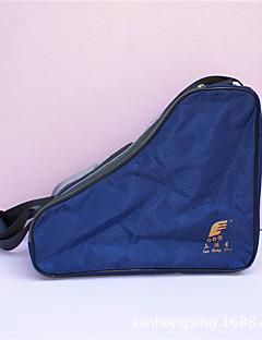Χαμηλού Κόστους Τσάντα για πέδιλα πατινάζ-Τσάντα για παγοπέδιλα για Πατινάζ Πάγου / πατινάζ / Πατίνια Inline cm Οξφόρδη Σκούρο Γκρι και Μπλε
