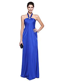 Linia -A Halter Lungime Podea Șifon Bal Seară Formală Rochie cu Detalii Cristal de TS Couture®