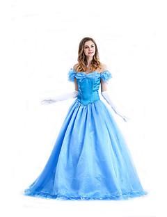 tanie Kostiumy filmowe i telewizyjne-Księżniczka Bajkowe Królowa Kostiumy Cosplay Kostiumy z filmów Sukienka Halloween Karnawał Poliester